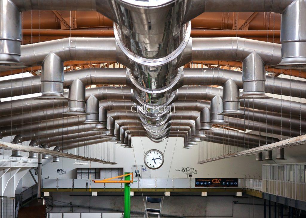"""СМК """"Ремспецстройпроект"""" выполняет проектирование и монтаж вентиляции"""